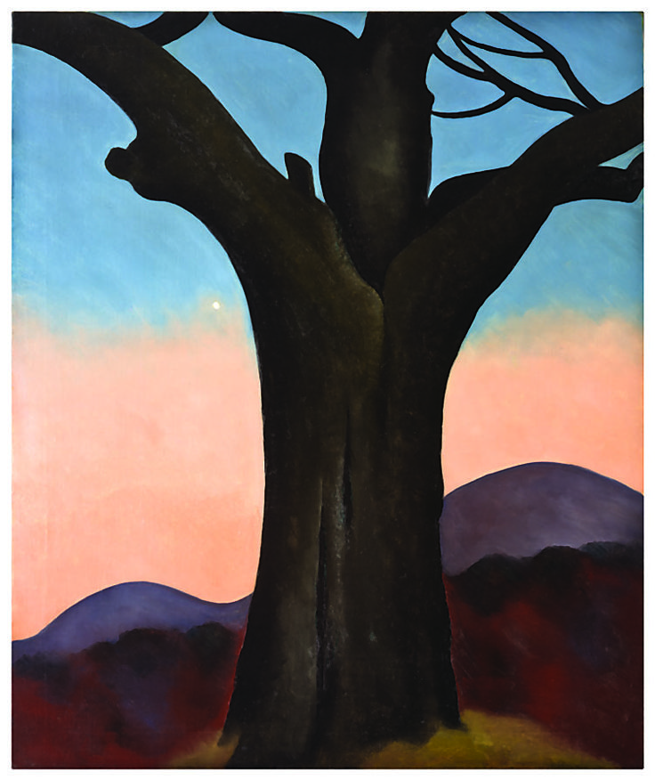 Georgia O'Keeffe, The Chestnut Grey, 1924.
