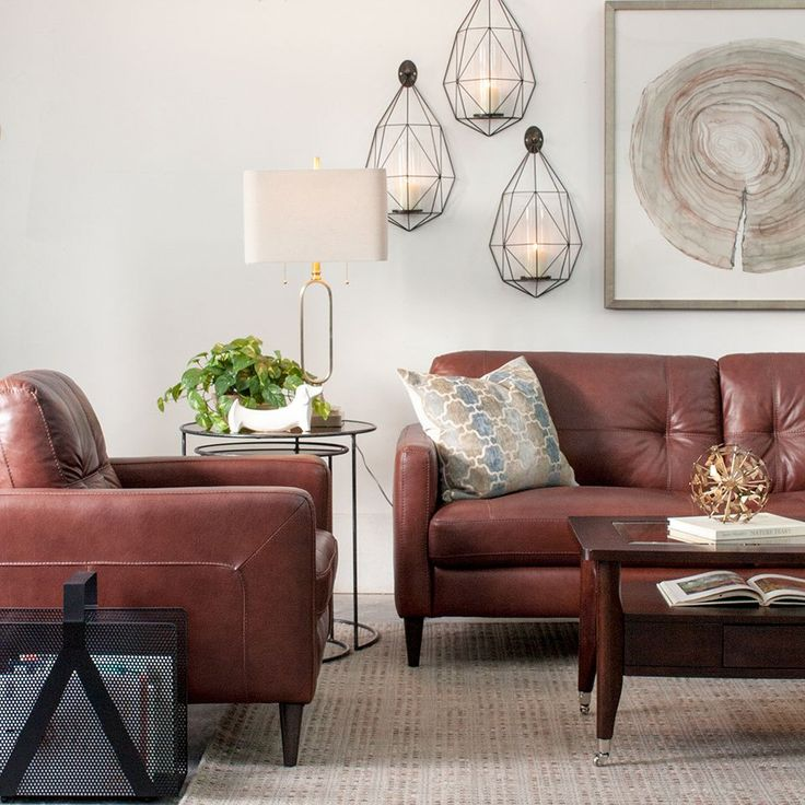 Get 20+ Brown Leather Furniture Ideas On Pinterest Without