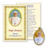 Pope Francis Souvenir Booklet & Medal.