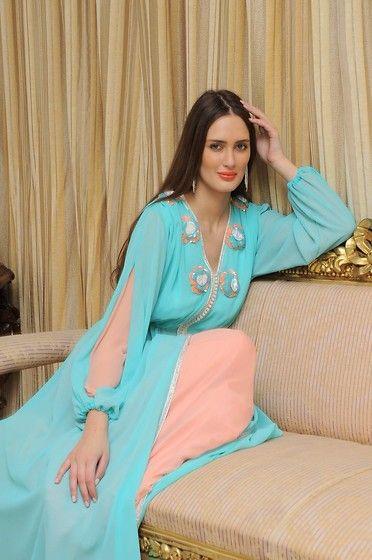 Emeraude Couture By Asma Lahlou Benyahya Moroccan Haute Couture Caftan