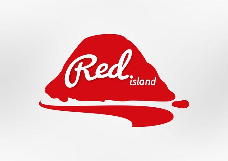 Red Island - Logo Design By Ronny Achmαϑ #logo #design #inspiration