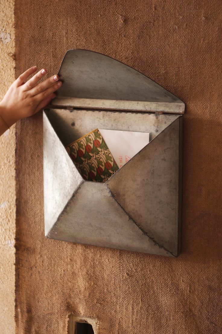 Metal Envelope Wall Decor : Images about galvanized zinc steel decor on