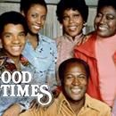 1. Good Times Good Times is a sitcom that originally aired from February 8, 1974, until August 1, 1979, on CBS. It was created by Eric Monte and Mike Evans, and developed by Norman Lear, the series' primary executive producer. Good Times is a spin-off of Maude, which is itself a spin-off of All.. ...1. Good Times Good Times is a sitcom that originally aired from February 8, 1974, until August 1, 1979, on CBS. It was created by Eric Monte and Mike Evans, and developed by Norman Lear, the…