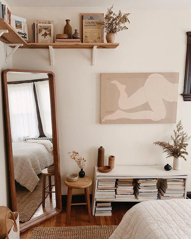 Corner Mirror For A Modern Touch Decor Small Bedroom Ideas For Couples Bedroom Interior Room Decor