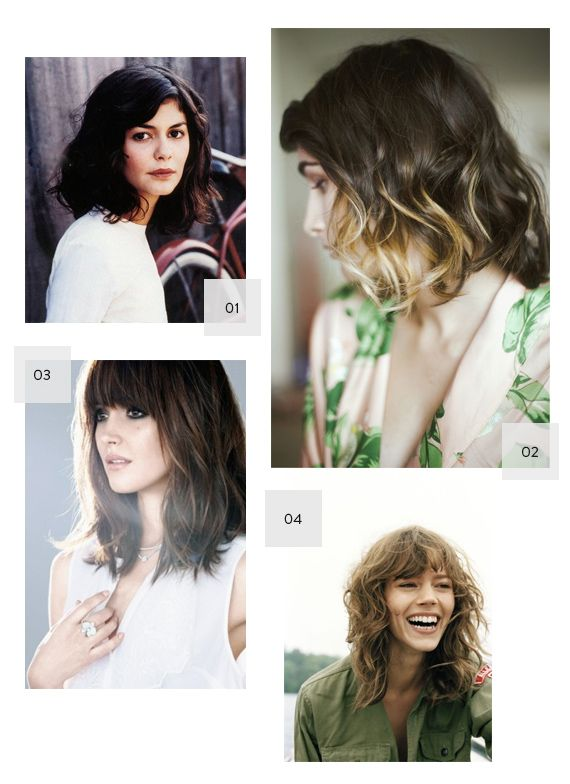 long bobs - my hair is finally reaching this length.  now if I can get it long enough to cut bangs into it like Rose Byrne....