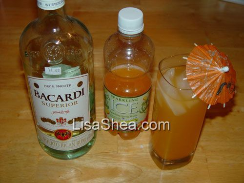 Low Carb Flavored Vodka Drinks