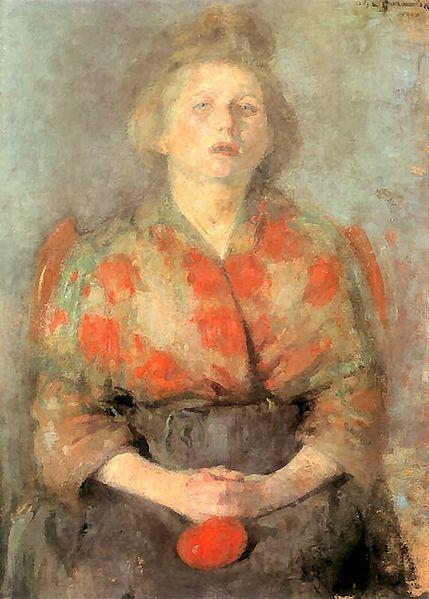 Olga Boznańska - portrait 1900