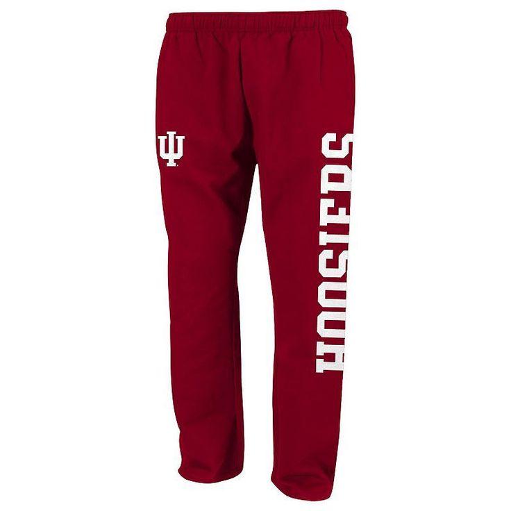 Boys 8-20 Indiana Hoosiers Tailgate Fleece Pants, Boy's, Size: