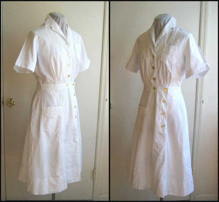 1940s u.s. military nurse's dress nurse uniform pure by edgertor