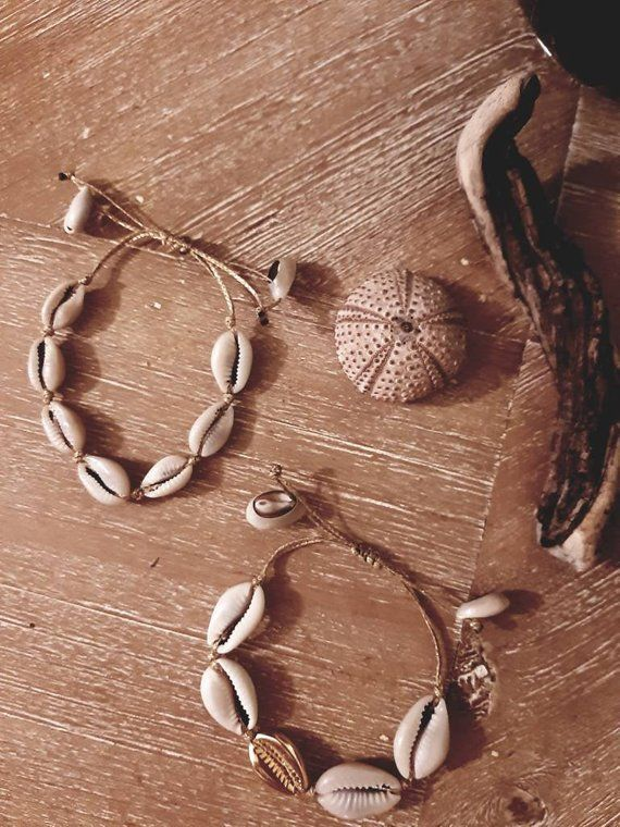 Cowrie Shell Bracelet Cowrie Shell Ankle Evil Eye Bracelet Etsy Shell Bracelet Evil Eye Bracelet Cowrie Shell