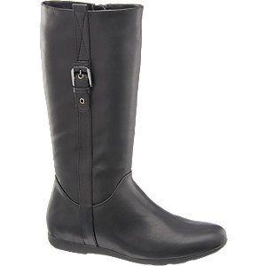#Graceland #Stiefel #schwarz für #Damen Schwarze Stiefel gehören in jeden Schuhschrank – wie wäre es mit diesem trendigen Modell von Graceland? Der schmal geschnittene Langschaftstiefel eignet sich insbesondere für schlanke Füße und lässt sich dank Fleece Innenmaterial auch an kalten Tagen tragen Ein vertikal verlaufender Zierriemen peppt das cleane nur mit wenigen tonigen Nähten versehene Design effektvoll auf Zweckmäßiges Detail der seitliche Reißverschluss mit Reißverschluss Farbe…