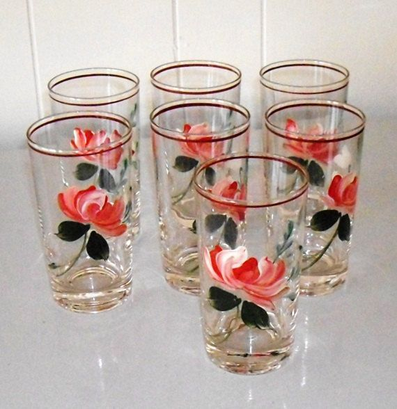 Pinterest for Hand painted drinking glasses