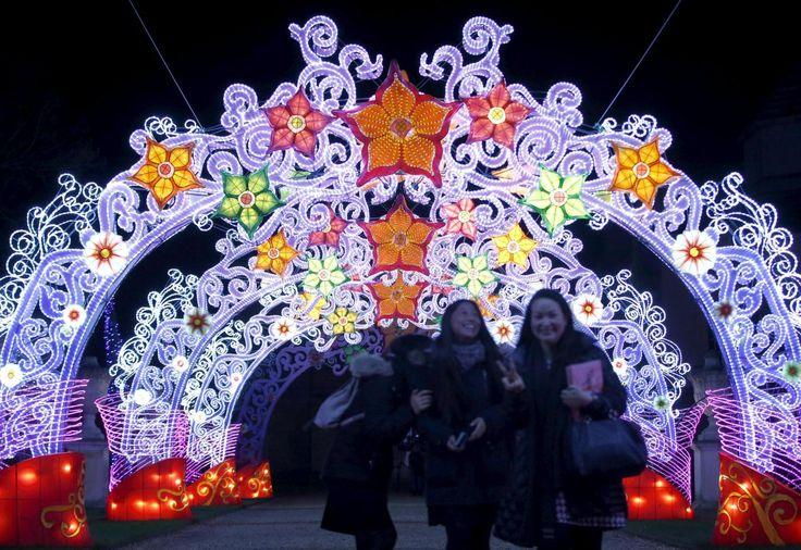 """Il """"#Festival della Lanterna Magica"""" per il #Capodanno Cinese a #Londra [FOTO].  Il Festival vuole celebrare il Capodanno Cinese, previsto per l'8 febbraio.  www.meteoweb.eu  #london #festival #magiclanternfestival"""