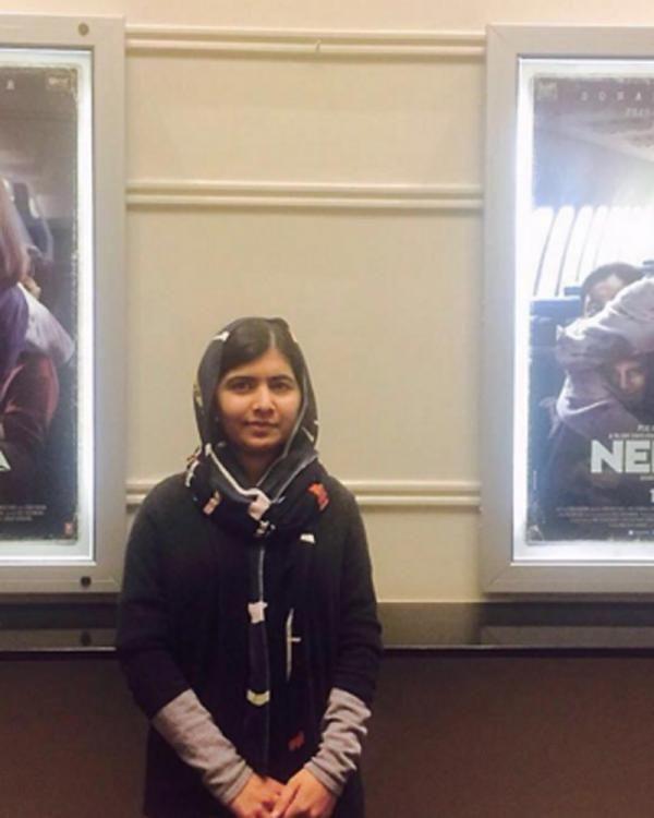 Neerja Blessed By Another Braveheart - Nobel Prize Winner Malala! | PINKVILLA