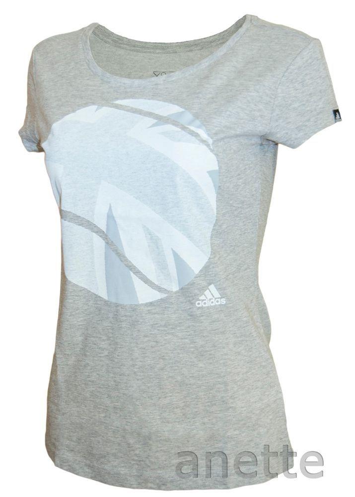 ADIDAS LONDON TENNIS Ladies T-Shirt Union Jack UK Flag Ball Graphic Clima BNWT  | eBay