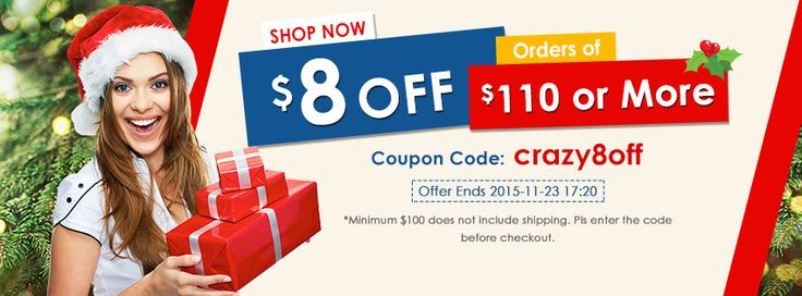 Missed the $5 off coupon last time? You should not miss a $8 off coupon right now! #coupon #crazy8off #bargains