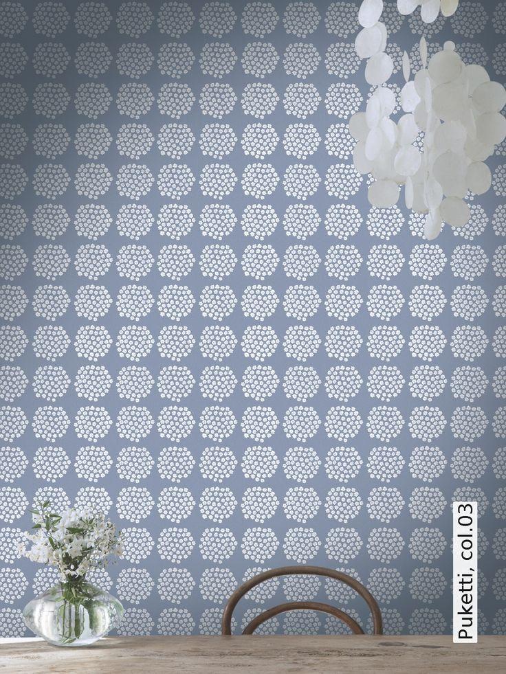 38 best marimekko tapeten images on pinterest marimekko modern patterns and wall papers. Black Bedroom Furniture Sets. Home Design Ideas