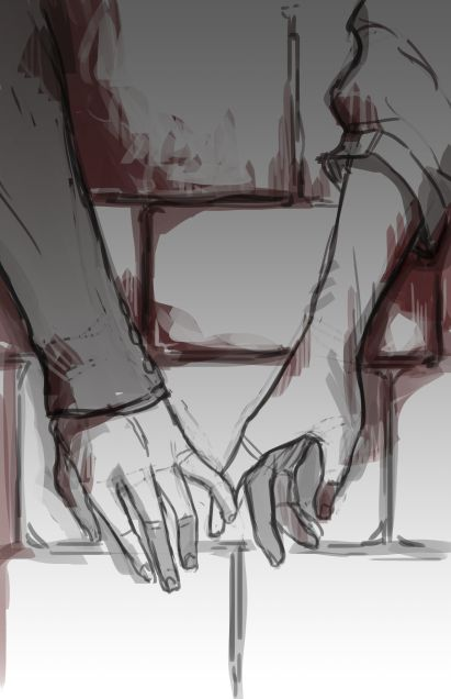 Vamos!fique um pouco aqui comigo.Não quero apenas alguns leves toque como fazia...quero que aperte-me forte,tome nos seus braços e beije-me velozmente a ponto de tira-me o ar e nos levar para um mundo só nosso,sem ninguém por perto,nosso lugar segredo onde apenas você e eu sabemos o caminho para o <3<3.