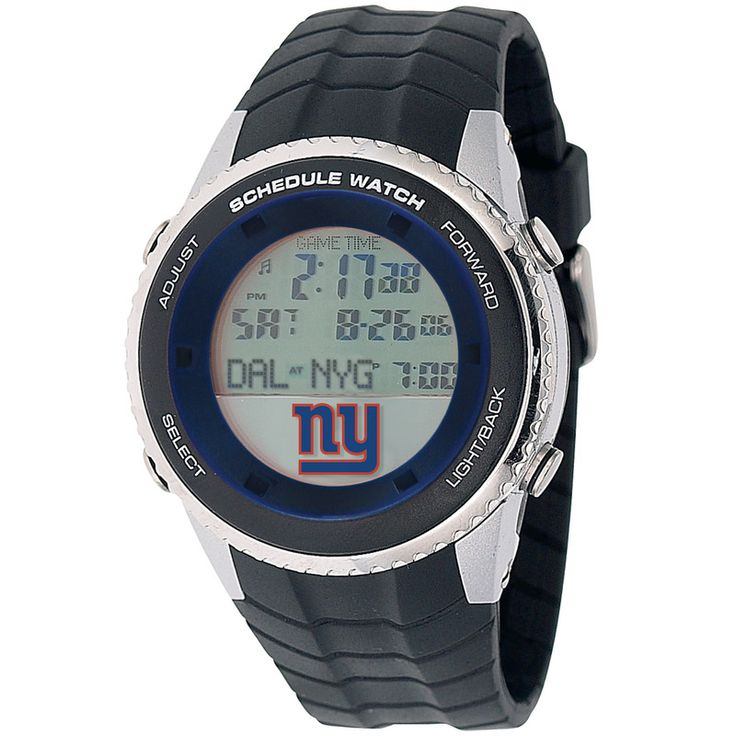 NFL New York Giants Men's Schedule Watch