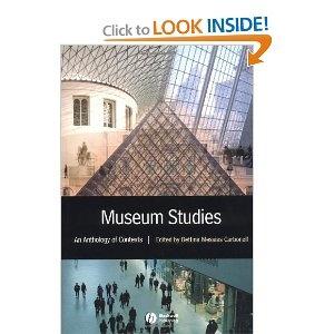 Museum Studies: An Anthology of Contexts    http://www.amazon.com/Museum-Studies-Bettina-Messias-Carbonell/dp/0631228306/ref=sr_1_11?s=books=UTF8=1363655897=1-11=els+limits+del+museu