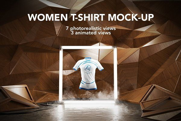 Download Women T Shirt Mock Up Animated Psd Mockup Free Mockups Psd Mockup Up Animation T Shirts For Women
