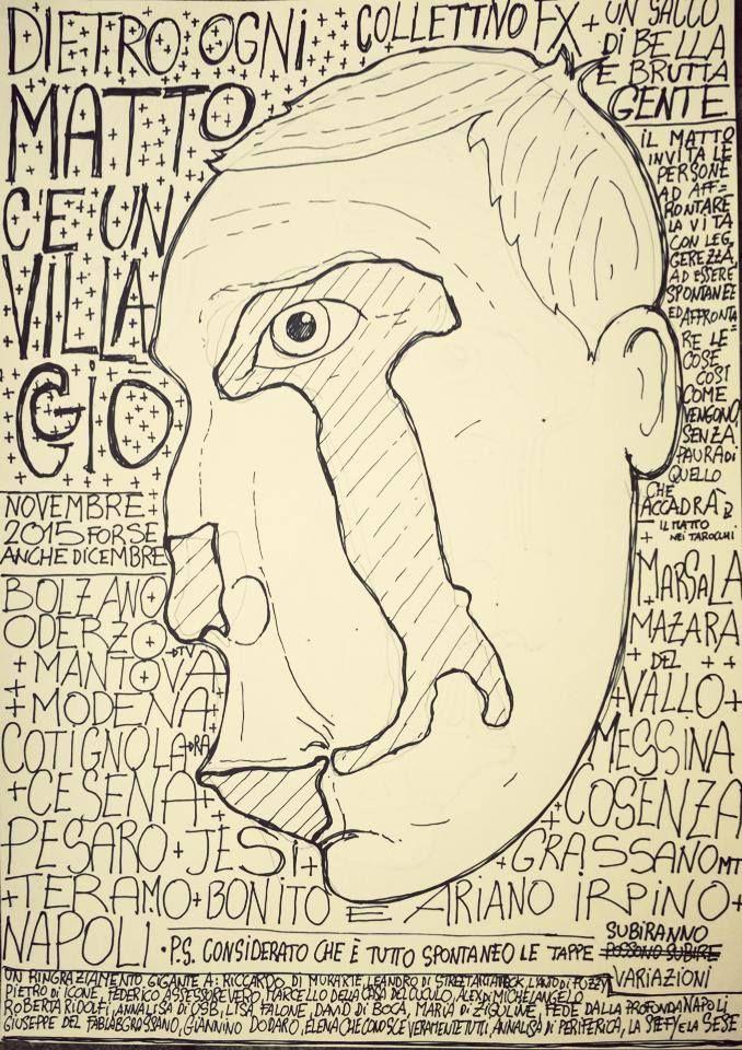Martedì 10 novembre 2015, torna a Cotignola il Collettivo FX con un progetto enciclopedico che li porterà ad attraversare l'Italia dipingendo la geografia segreta dei matti di paese; la tappa di Cotignola diventa così anche occasione per un omaggio a personaggi come Gori e La Flema, a partire dai commoventi mascheroni in cartapesta fatti da Luigi Varoli e conservati al museo.