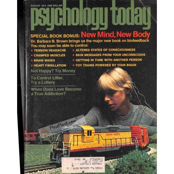 Psychology Today Magazine, August 1974 | $8.82