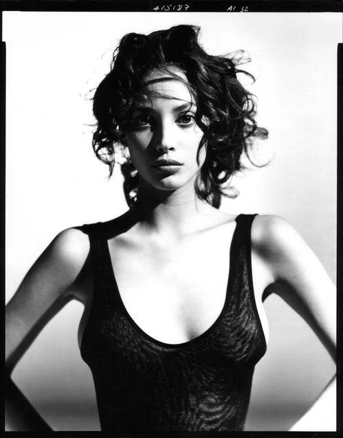 Christy Turlington in Alaïa par Arthur Elgort, American Photo
