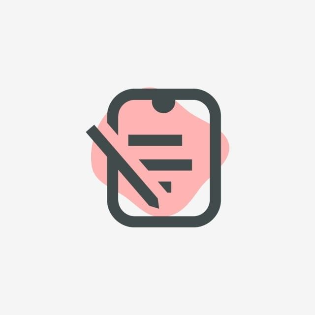 Pink Text Icon Pink Text Text Notes Png And Vector With Transparent Background For Free Download In 2020 Text Icons App Pictures Icon