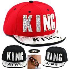 Fleksi KING Yazılı Hep Siperinde Hep Önünde King Yazılı Şapka Cap