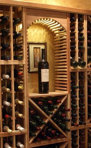 Small Decorative Cellar Arch - traditional - wine racks - salt lake city - Wine Racks America