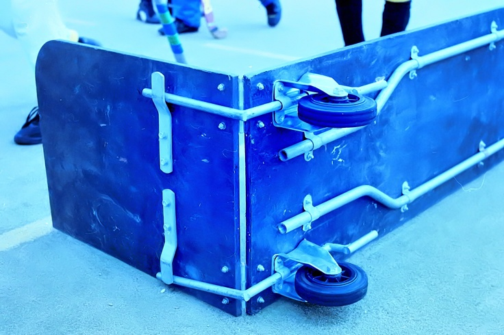 Minihockeydoel van Alphons Arts