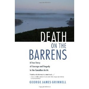Death on the Barrens: A True Story of Courage and Tragedy in the Canadian Arctic. Saw the dedication page in this book. Author was father of two of the young people who died in a canoeing accident for which there is a memorial at Fort Albany.