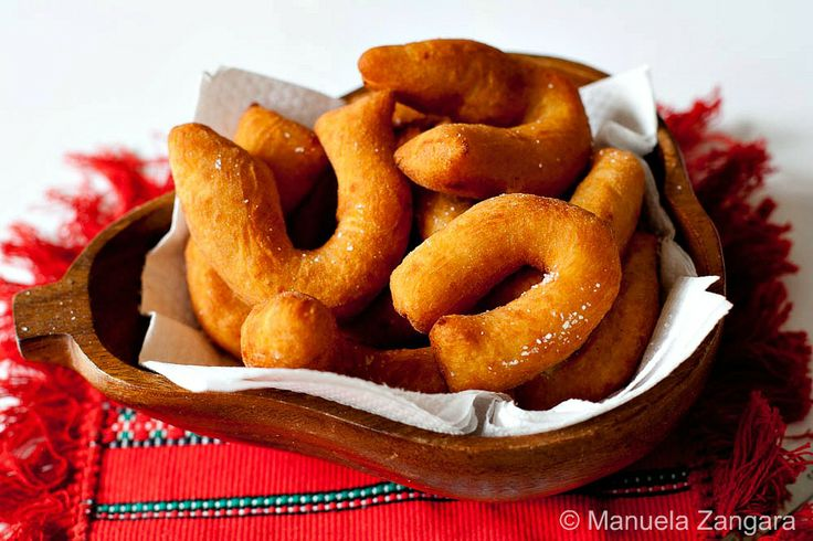Chifeletti (Italian Fried Potato Dough Crescents) Recipe - typically served as a side dish to accompany roasts or meats with gravy