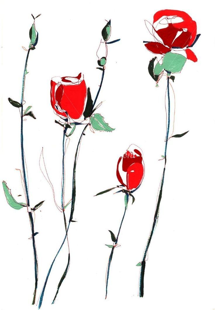 roses ilustration - חיפוש ב-Google