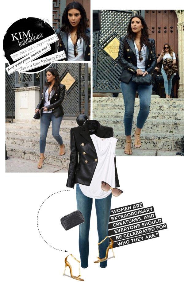 1478. Celeb Style : Kim Kardashian (17.03.2014)
