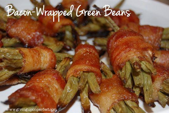 Bacon Wrapped Green BeansEnjoy Fresh, Easter Dinner, Brown Sugar, Eating, Bacon Wraps Green, Fresh Green, Beans Bundle, Beans Seasons, Beans Cooking