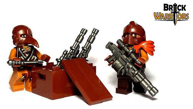 Custom LEGO Gun Highlight - Auto Sniper #LEGO #BrickWarriors #Minifigure #AutoSniper #LEGOgun #LEGOaccessories #MinifigureAccessories