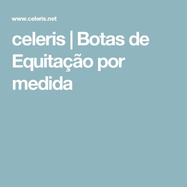 celeris | Botas de Equitação por medida