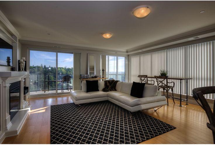 Open concept, modern living space.