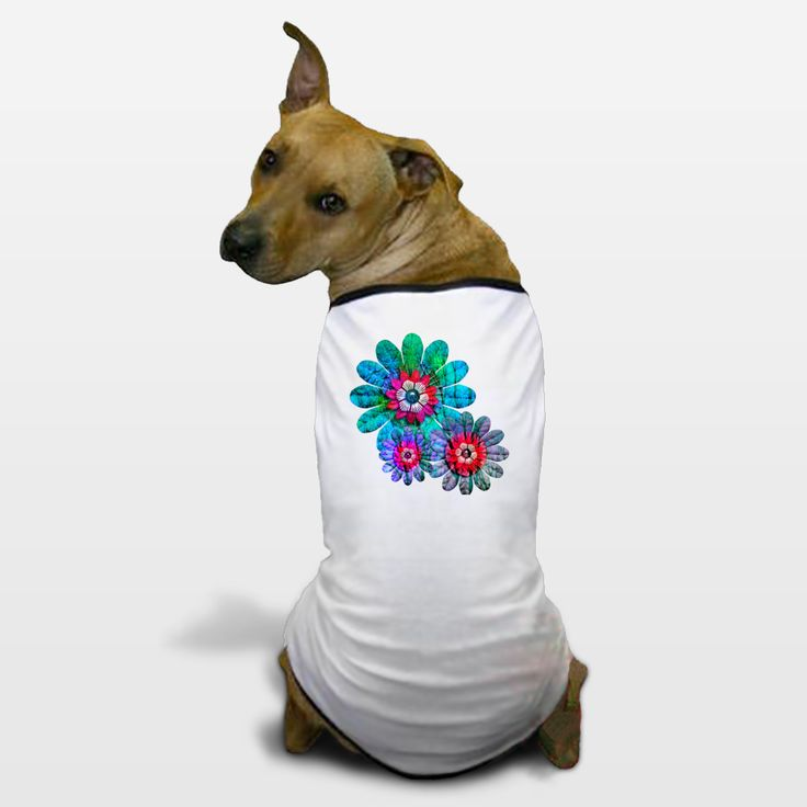 Shop for unique nursery art like the Flowers Dog T-Shirts by haroulita on BoomBoomPrints today!  Customize colors, style and design to make the artwork in your baby's room their own!