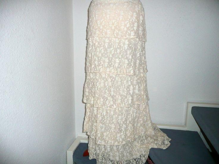 Original 70er Jahre Bohemian Spitzen Rock / Kleid von wolkenzauberschmiede auf DaWanda.com
