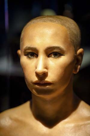 King Tut reconstructed face