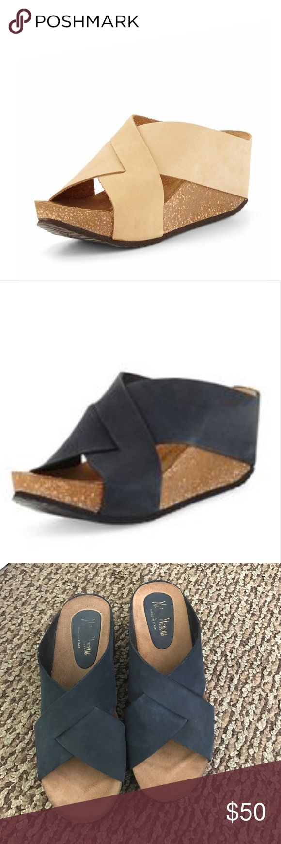 Neiman Marcus shoes Cute wedge shoes. Worn a couple times. Size 8 Neiman Marcus Shoes Wedges