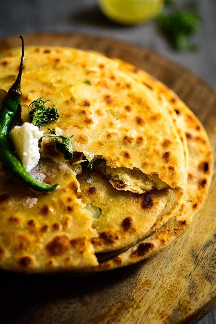 Gobhi ka Paratha (Cauliflower flatbread) - Gobhi Ka paratha… Stuffed parathas…