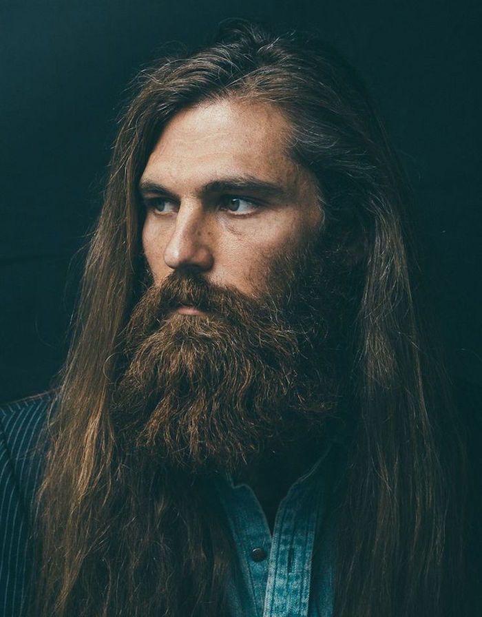 Comment entretenir cheveux long homme