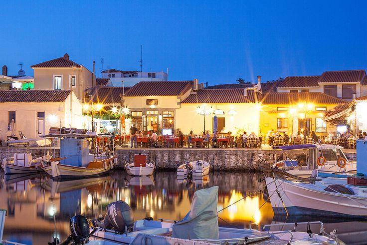 Lemnos Harbour, North Aegean, Greece.