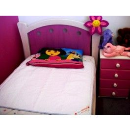 BD's bed mat for bed wetters, night time toilet training.  Machine wash tumble dry friendly
