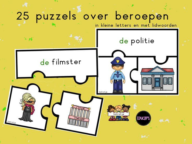 beroepen puzzels