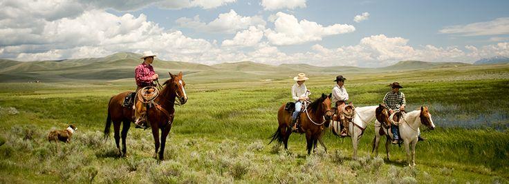 J Bar L Ranch, Centennial Valley, Montana
